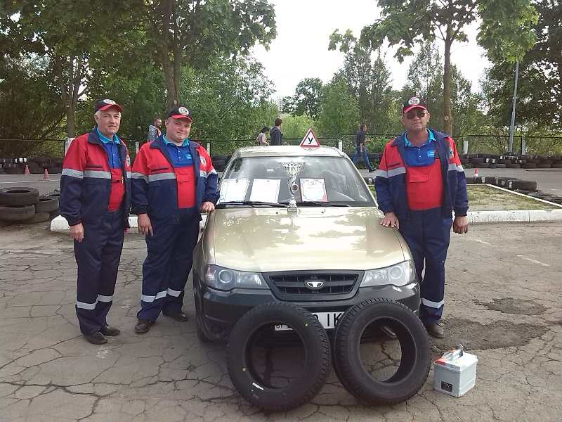 Команда из Борисова заняла 2 место